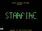 The title screen