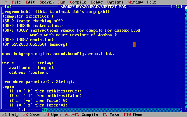 Turbo pascal online
