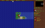 The main game screen