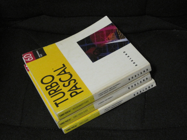Turbo Pascal Manuals