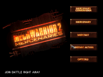 Mercenaries main menu