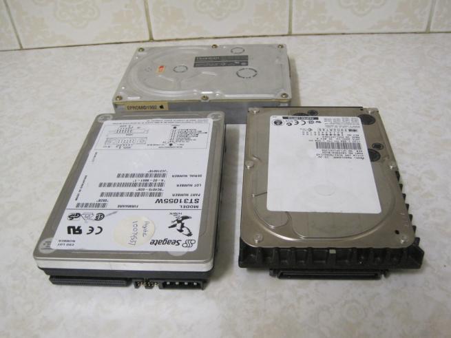 Common SCSI Drives