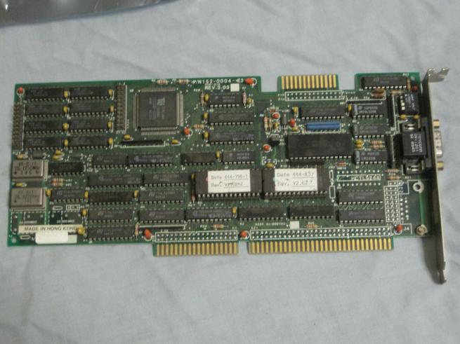 Tseng Labs ISA VGA Card
