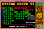 Mirror Magic Menu Screen