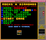 R'n'D Menu Screen