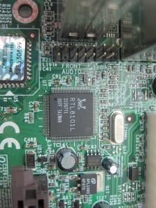 Realtek LAN chip